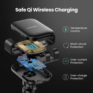 Image 5 - Ugreen Không Dây Sạc Trên Ô Tô Cho iPhone 12 Pro XS X 8 Fasr Sạc Không Dây Dành Cho Samsung S9 S10 Xiaomi Mi 9 Sạc Không Dây Qi