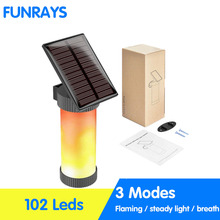 Solar Simulation Flame Flame Wall Lamp Outdoor Courtyard Garden Landscape Lamp Human Induction Led Street Lamp