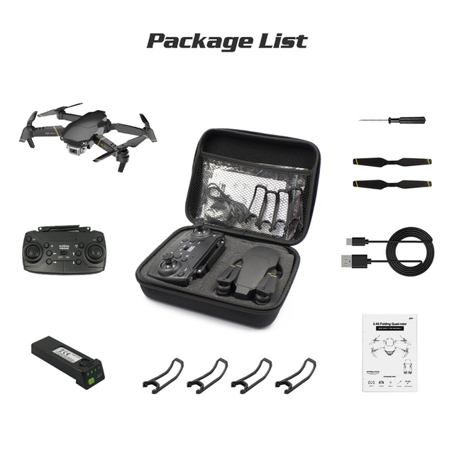 Professional 4K Quadcopter Drone with HD Camera RC Helicopter