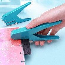 1pc Creative Paddestoel Gat Puncher DIY Papier Cutter T type Puncher Losse Blad Papier cut Ponsmachine kantoren Schoolbenodigdheden