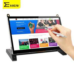 Eviciv Monitor Holder Touch-Screen Portable Display Raspberry HDMI 7inch USB with Stylus