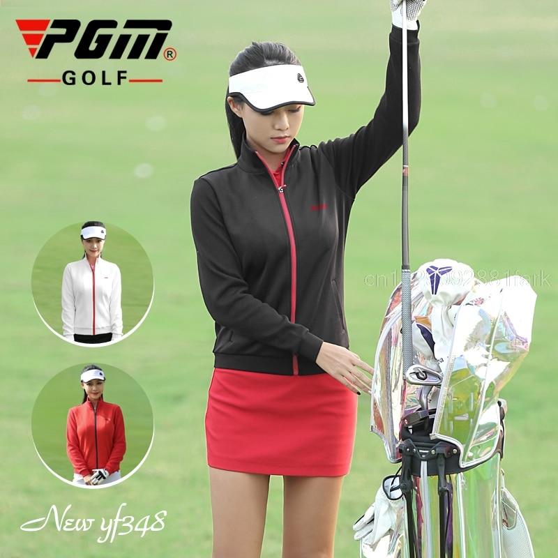 2021 Spring Autumn Women Golf Windbreaker Ladies Golf Clothes Waterproof Zipper Jackets Outdoor Sports Leisure Cardigan Shirt
