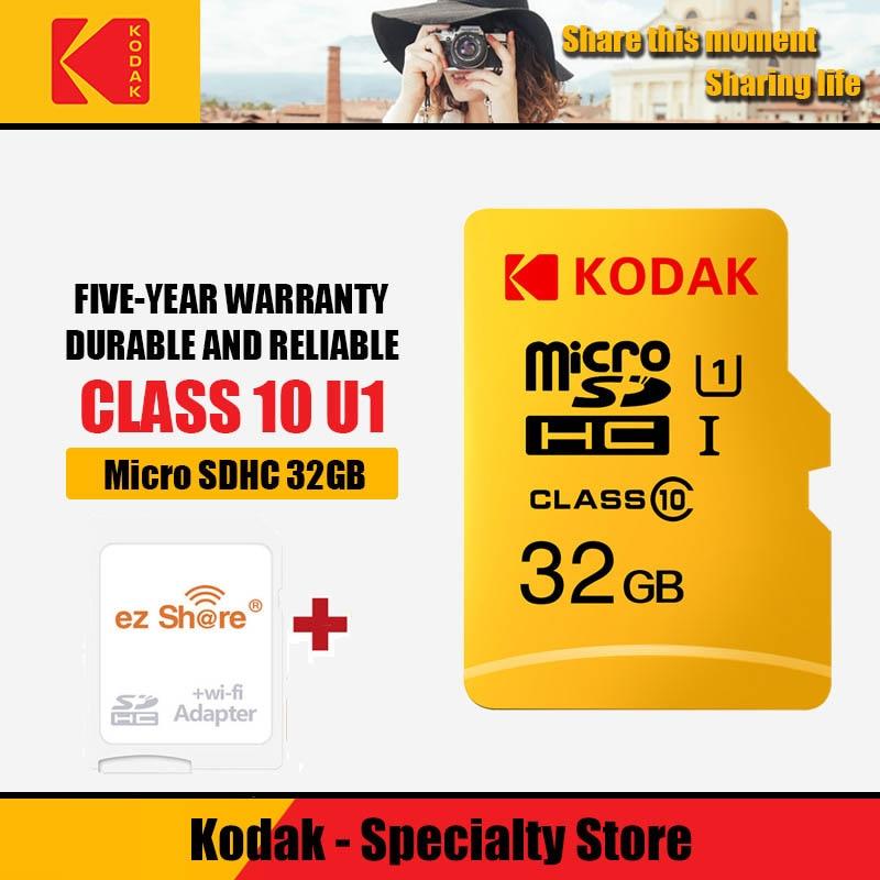 Ez Share Wireless Wifi Adapter+Original Kodak U3 A1 V30 32gb 64gb 128gbclass10 Microsd Wifi Wireless Tf Flash Card Memory Card