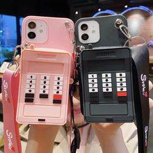 3D Cartoon Phone Wallet Case For Samsung Galaxy A01 A10E A11 A12 A20E A31 A32 A40 A51 A52 A60 A71 A81 A91 Cute Soft TPU Cover