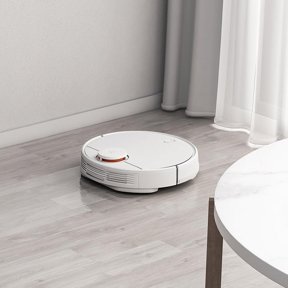 Image 4 - Xiaomi Mijia Sweeping Mopping Robot Vacuum Cleaner STYJ02YM 360 Degrees Laser Scanning  LDS Radar Ranging APP Control for Home-in Vacuum Cleaners from Home Appliances