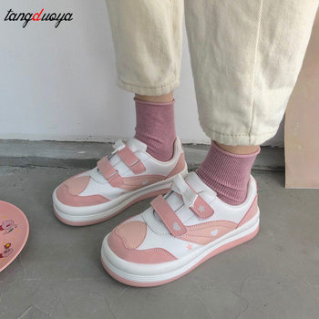 Sweet lolita sneakers shoes women Spring Autumn Casual Shoes Woman Sneakers Comfortable casual Women Walking Kawaii 2020