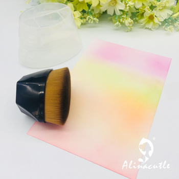 Blending Tools Brush Drawing Painting Brush  Makeup Brushes Flat Kit Make up Painting  Brushes for Scrapbooking Card handmade 5