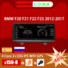"""COIKA 10.25 """"Android 10.0 System samochodowy ekran IPS Stereo dla BMW F20 F21 F22 F23(Cabrio) 2 + 32G WIFI Carplay SWC Google Phonelink"""