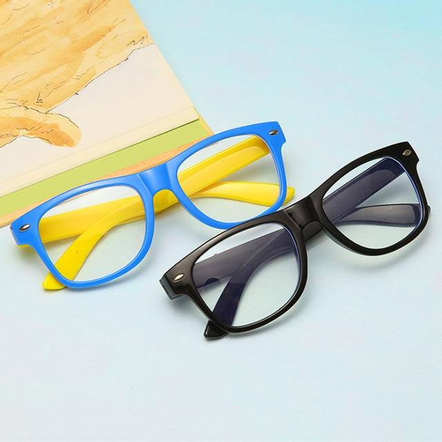 Фото винтажные очки детский анти синий светильник детские солнцезащитные цена