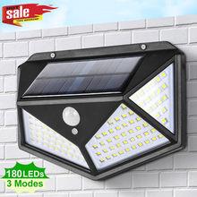 Lampe solaire LED puissante et étanche avec capteur de mouvement PIR, luminaire décoratif d'extérieur, idéal pour un jardin ou une rue