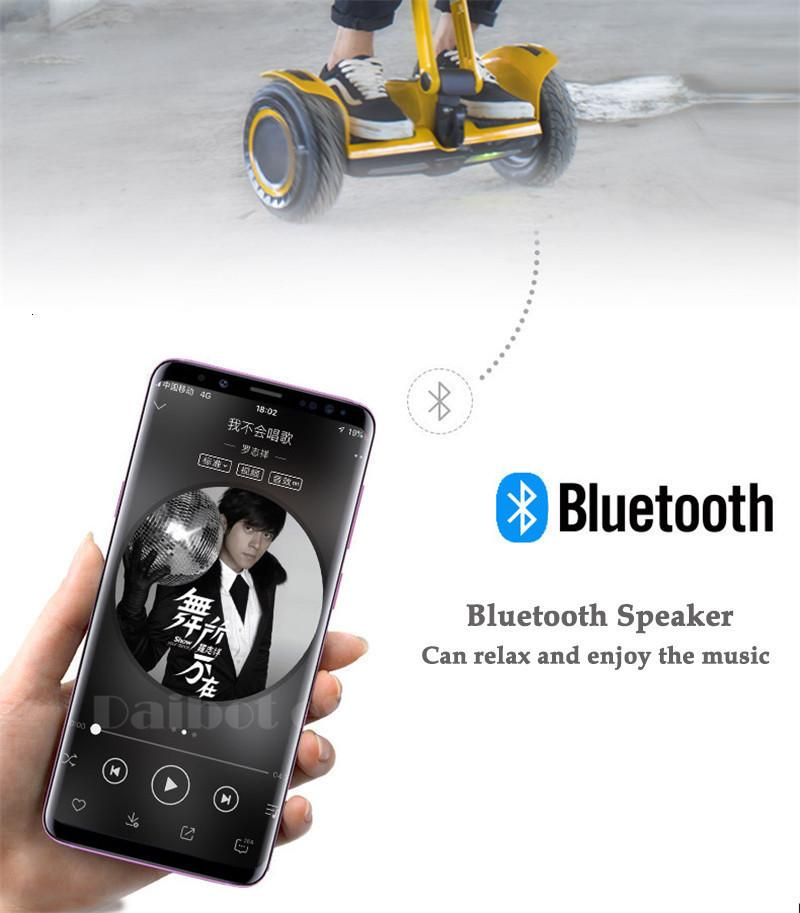 Daibot Portable Electric Scooter Self Balancing Scooters 10 Inch Off Road 250W2 36V Hoverboard For Kids APPBluetooth Speaker   (12)