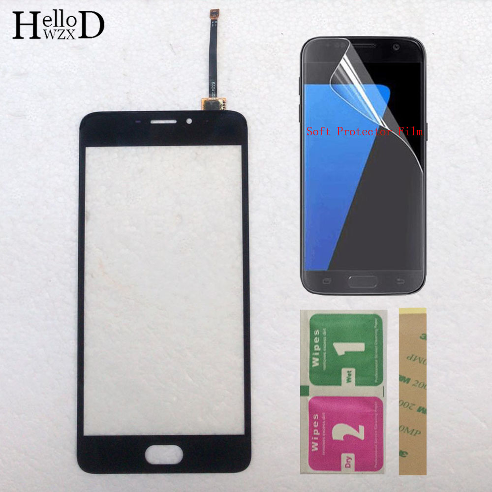 5.5'' Touch Screen For Meizu M5 Note / Meilan Note 5 Note5 Touchscreen Touch Digitizer Panel Sensor Front Glass Protector Film