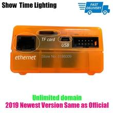 цена на New Version Sunlite Suite2 FC DMX-USD Controller DMX 1536 Channel Good for DJ Party LED Lights Stage Lighting control software