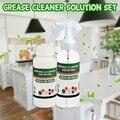 Fett Reiniger Lösung Set Küche Fett Reiniger Multi Zweck Schaum Reiniger mit Zweck Blase Reiniger Spray Flasche-in Kochfeldreiniger aus Heim und Garten bei