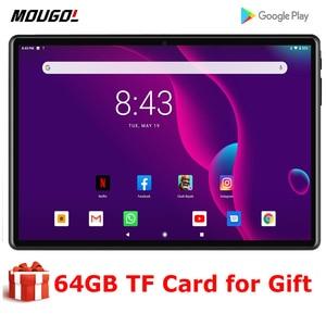 2020 nowy 10 cal tablet z systemem android 9.0 OS Octa Core 4G telefon LTE ekran IPS 3GB RAM 32GB ROM typu C 5G Wifi Tablet GPS 10.1