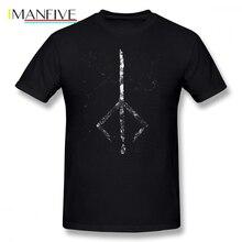 Bloodborne T Shirt Hunter S Mark T-Shirt Short Sleeve Beach Tee Graphic Male Cotton Funny XXX Tshirt