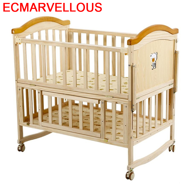 Bett Lozko Dla Dziecka Recamara Infantil Toddler Cama Individual Cameretta Bambini Wooden Lit Children Chambre Enfant Kid Bed