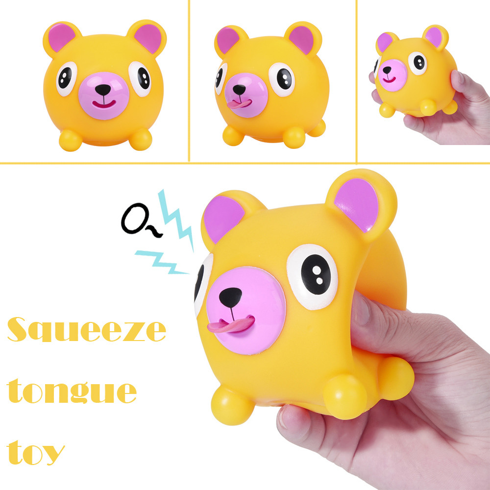 Toys For Children Cute Squeeze Stress Tongues Alternative Humorous Light Hearted Funny Toy Kids Toys Squishy Toys Baby Toys