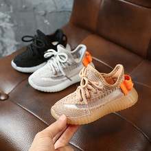2020 Spring Baby Soft Toddler Shoes Breathable Knitting Infant Shoes 0-3 Year Boy Girl Darling Coconut Shoes Child Sneakers