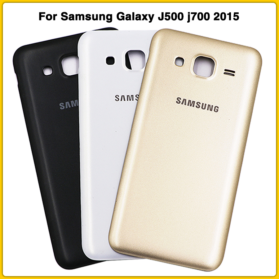 New Rear Housing Case For Samsung Galaxy J5 J7 2015 J500 J500H J500F J700 J700F Battery Back Cover Door Rear Cover