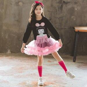 Image 3 - جديد وصول عيد الميلاد ملابس جميلة الفتيات فستان حفلة الاطفال الكرتون الأميرة الطبقات فساتين ملابس الشتاء فتاة 8 إلى 12 سنوات