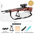 Arma militar ww2 98k desert eagle submachine modelos blocos de construção compatível para pistola arma blocos brinquedos para crianças