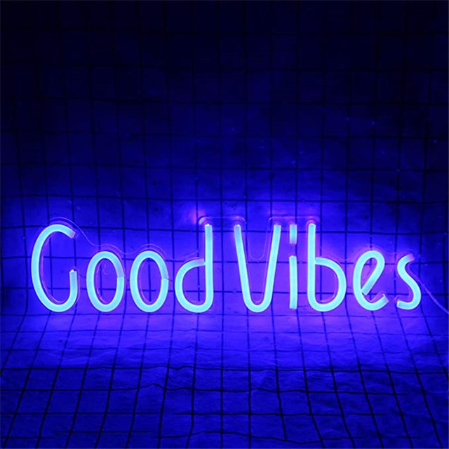 Good Vibes Neon Sign 6