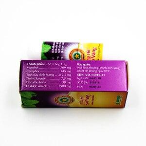 Image 5 - Golden Star Herbal Nasal Inhaler Stick Mint Cylinder treament Asthma Nasal congestion headache Refreshing Aroma Stick Inhaler