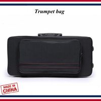 Trumpet accessories Trumpet case Lightweight waterproof black Trumpet bag Trumpet parts