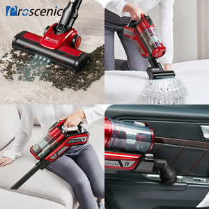 Image 4 - Proscenic I9 22000Pa Rechargeable Handheld Vacuum Cleaner for Home Cyclone Filter Portable Vertical Cordless Vacuum Cleaner