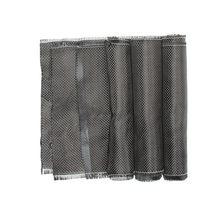 3k 200gsm0.2mm 30/60cm espessura pano de fibra carbono tela de carbono liso para equipamento comercial do esporte da parte do carro