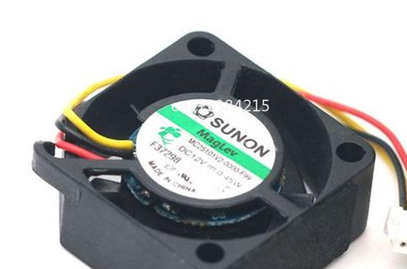 Free Shipping Original MC25101V2-0000-F99 2510 2CM 12V 0.45W 3 Wire Mini Silent Fan
