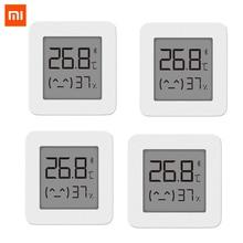 [أحدث نسخة] شاومي Mijia بلوتوث ميزان الحرارة 2 اللاسلكية الذكية الكهربائية مقياس الرطوبة الرقمي ميزان الحرارة العمل مع Mijia APP
