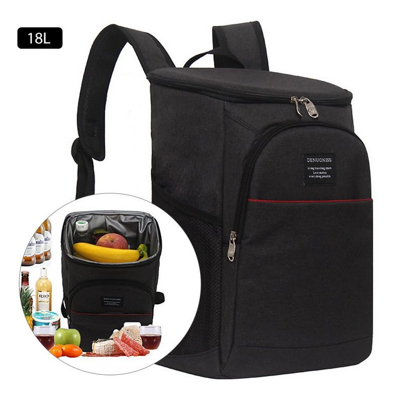 18L Cooler Bags Backpack Picnic Camping Waterproof Insulated Rucksack Refrigerator Bag Ice Cooling Thermal Lunch Box Unisex