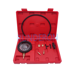 Image 5 - Car Repair Workstore Engine Intake Exhaust Pressure Detection Gauge Tools Kit