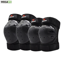 WOSAWE Motorcycles Knee Pads Elbow Pads Set OFF-ROAD Motocross Skating Protective Gear Skateboard Snowboarding Body Guard цена и фото