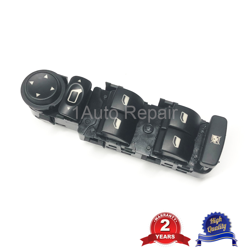 For Citroen C4 Electric Master Power Window Control Switch 2004-2010 6554.HA