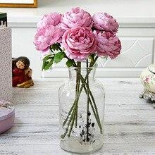 1PC Camellia sasanqua Silk Flower Bouquet Artificial Plant Faux Fake Eternal life DIY House Decoration Gifts 10 Colors
