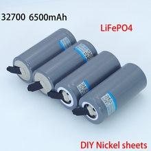 VariCore — batterie LiFePO4, 3.2 V, 6500 mAh, haute puissance, CC 3 5A et CC maximal 55 A, avec des feuilles de Nickel pour soudure, 32700