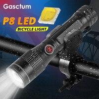 20000 Lumen linterna y luz para bicicleta 2 en 1 MTB Bi ciclo de luz noche linterna recargable ciclo de luz con bicicleta Clip de regalo