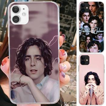 Timothee Chalamet Hard Phone Case For iPhone 7 8 Plus X XS Max XR Coque Case For iphone 5s SE 2020 6 6s 11Pro image