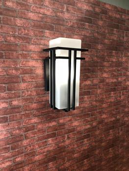 LED ō�売シンプルなヨーロッパの屋外壁ランプ防水屋外バルコニーの壁ガーデン廊下番街中庭の壁ランプ