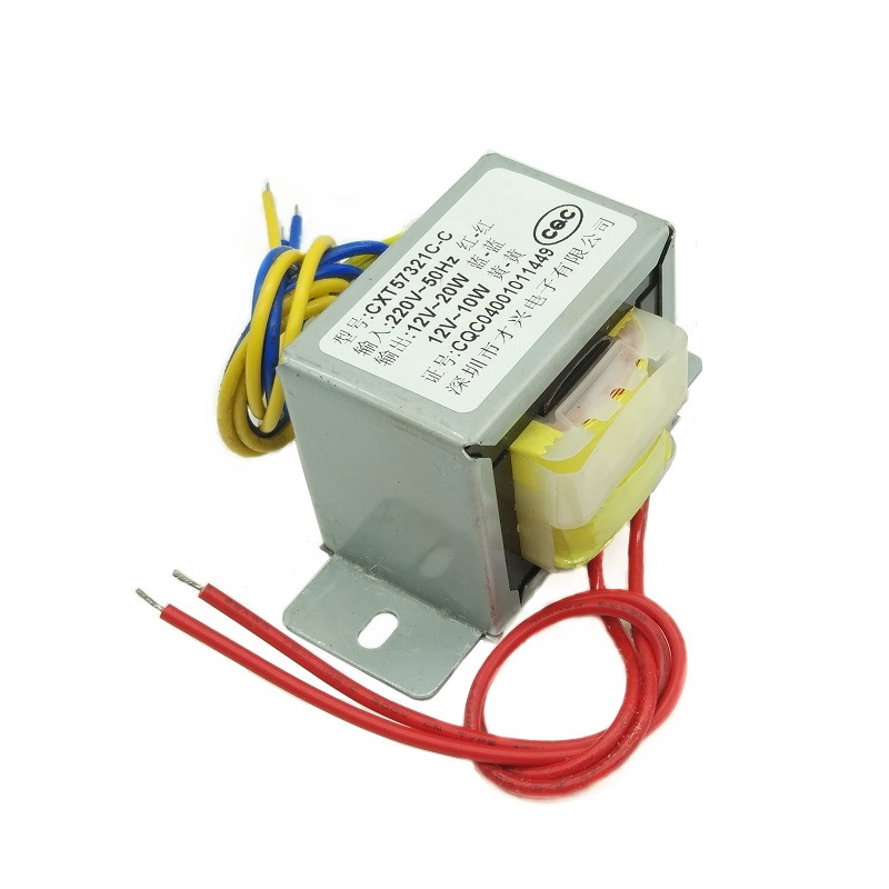 EI57*35 power transformer 30W 220V to 12V 12V <font><b>30VA</b></font> independent isolation winding double 12 image