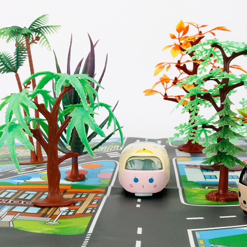 Hcd6b065f0ef24120ad2233e14eed9b11m Large City Traffic Car Park Mat Play Kids Rug Developing Baby Crawling Mat Play Game Mat Toys Children Mat Playmat Puzzles GYH