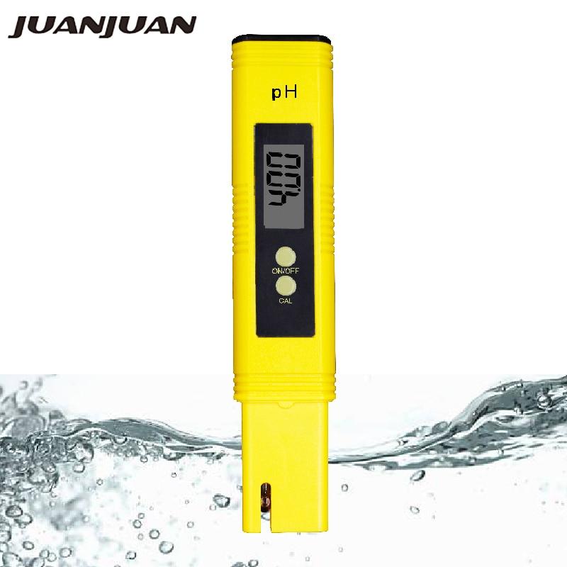 Neue Protable LCD Digital PH-Meter Stift von Tester genauigkeit 0,01 Aquarium Pool Wasser Test Wein Urin automatische kalibrierung 22% OFF