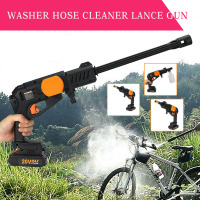 pcmos Portable Cordless High Pressure Clean Washer Hose Car Wash Maintenance Car Washer Water Gun Snow Foam Lance