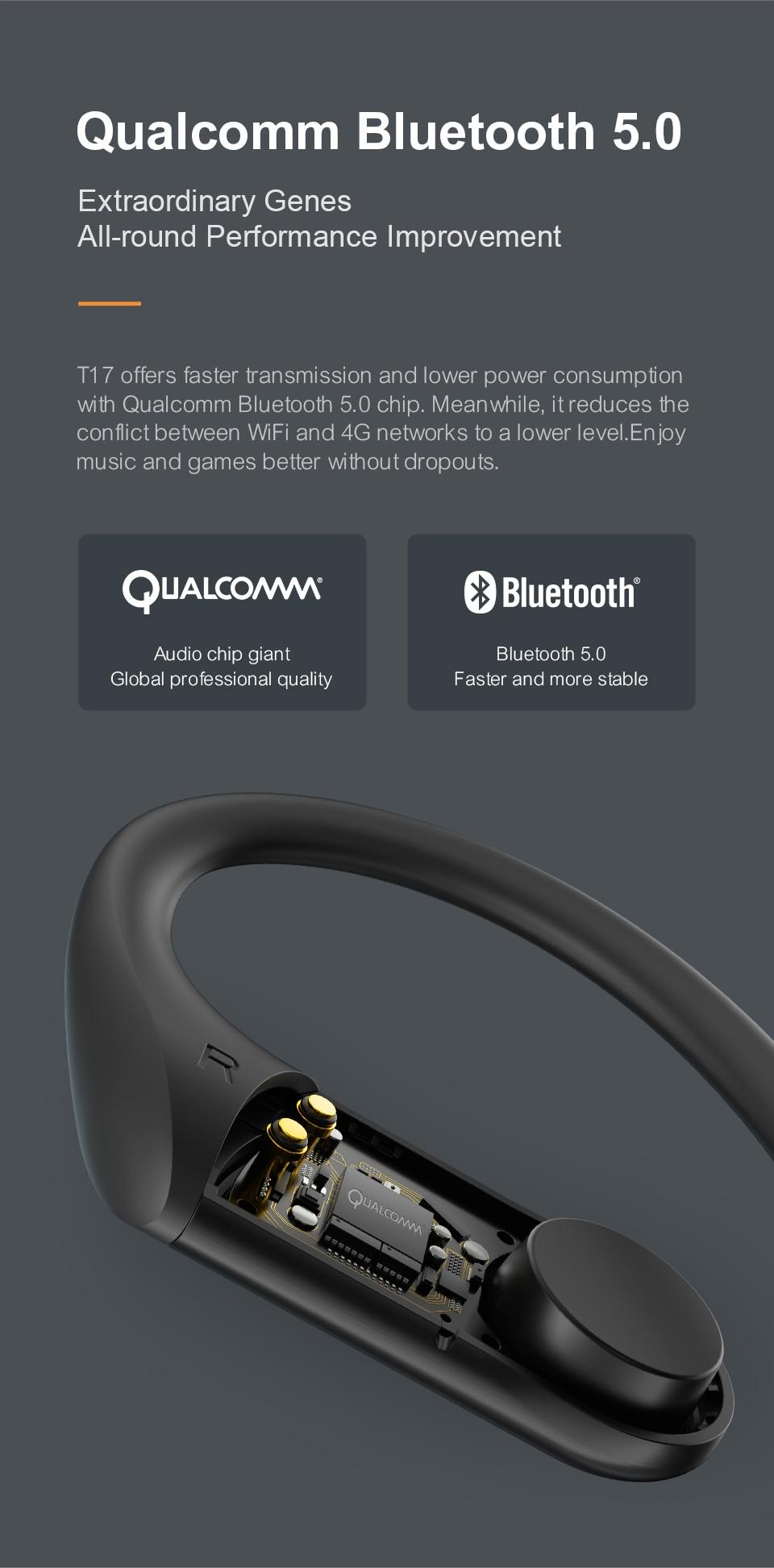Haylou T17 TWS Bluetooth Sport Earphone Aptx Pop-Up Animation buy online in pakistan