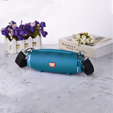 20W Stereo Music Surround Subwoofer Bluetooth Speaker Wireless Portable Cylindrical Outdoor Waterproof Speakers zealot s16 tws bluetooth wireless speaker portable outdoor waterproof subwoofer high power stereo speakers power bank