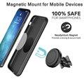Универсальный Регулируемый автомобильный держатель для сотового телефона  для Xiaomi Redmi iPhone 8 x xr 11 Pro max  автомобильный держатель на вентиляцио...