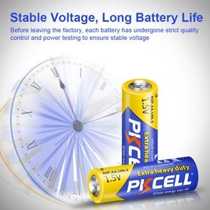 Image 4 - 50 pièces PKCELL AA batterie 1.5V aa Super robuste carbone zinc Batteries aa R6P UM 3 batterie pour jouets, appareil photo, laser, lampe de poche